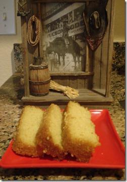 Rice pound cake