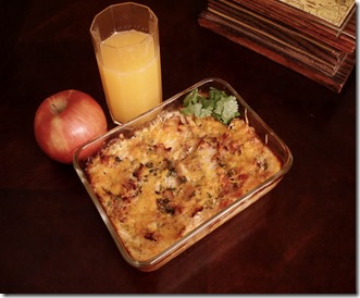 hearty ham and cheese bake